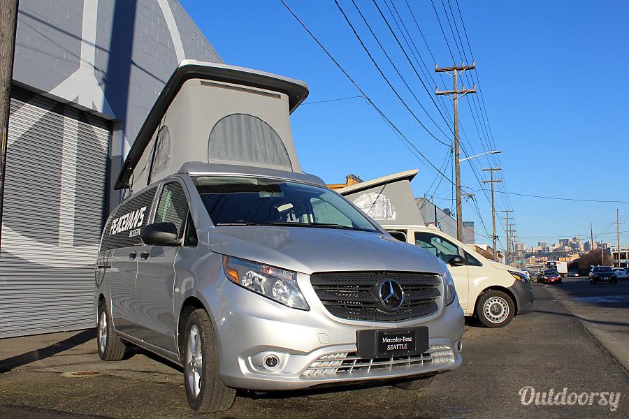 Peace Vans Modern #1: Dungeness - 2018 Mercedes-Benz Metris Weekender Seattle, WA
