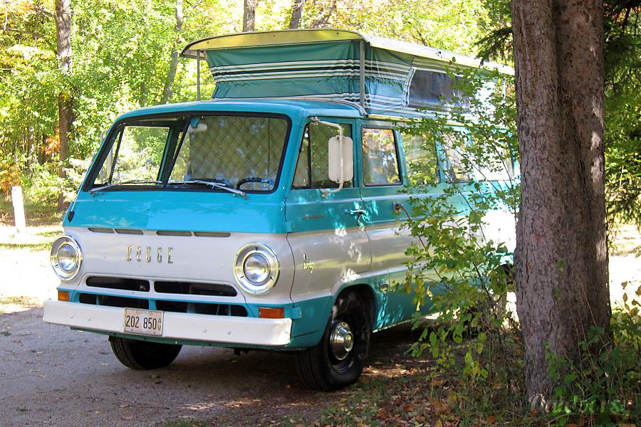exterior 1967 Dodge A-108 Sportsman CampWagon Chicago, IL