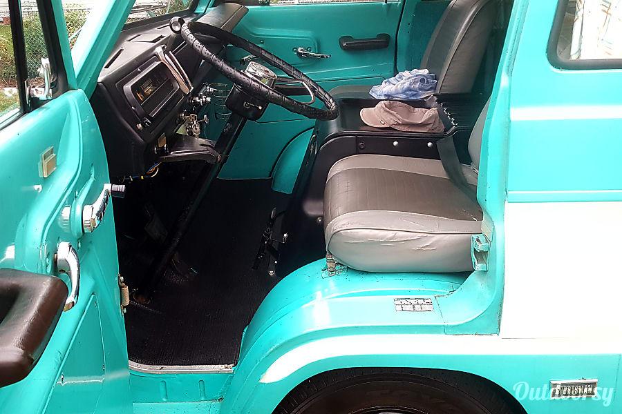 interior 1967 Dodge A-108 Sportsman CampWagon Chicago, IL