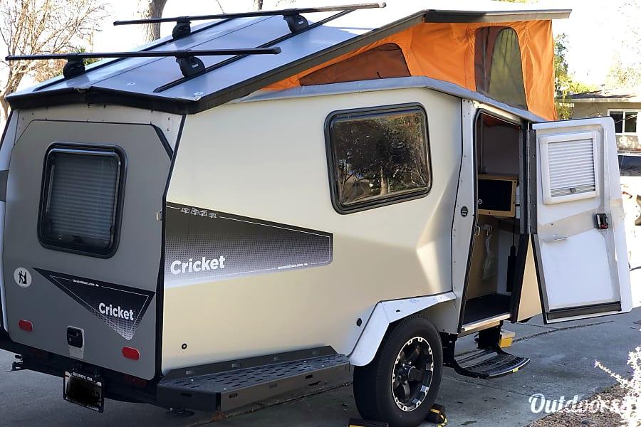 exterior 2017 Taxa Cricket Trek Sunnyvale, CA