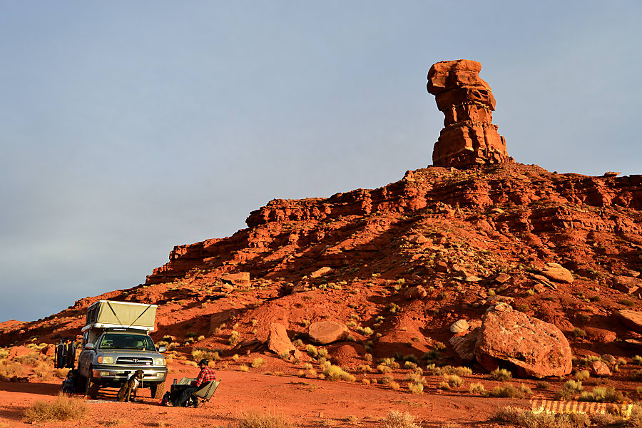Rocinante: Toyota Tundra 4x4 + Four Wheel Camper Pop-up Portland, OR