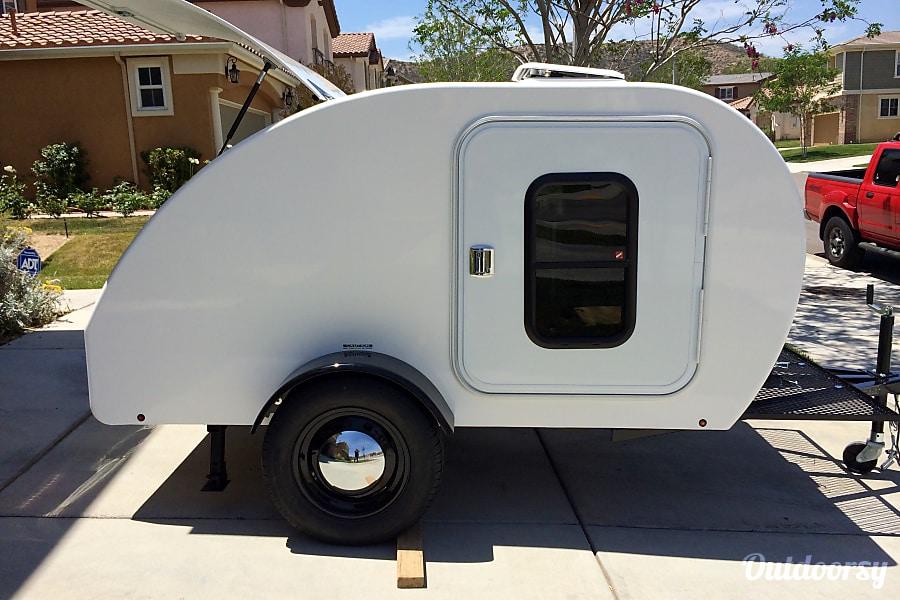 exterior 2014 NestEgg Teardrop Trailer SANTA CLARITA, CA