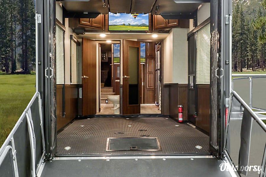 interior 2016 Heartland Cyclone w/Deck Placerville, CA