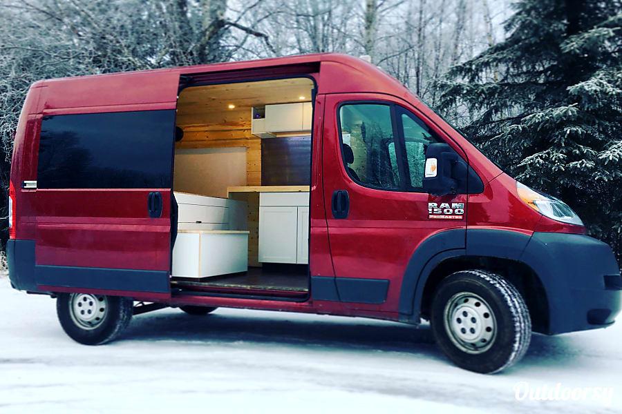 2016 Ram Promaster 1500 Motor Home Camper Van Rental In
