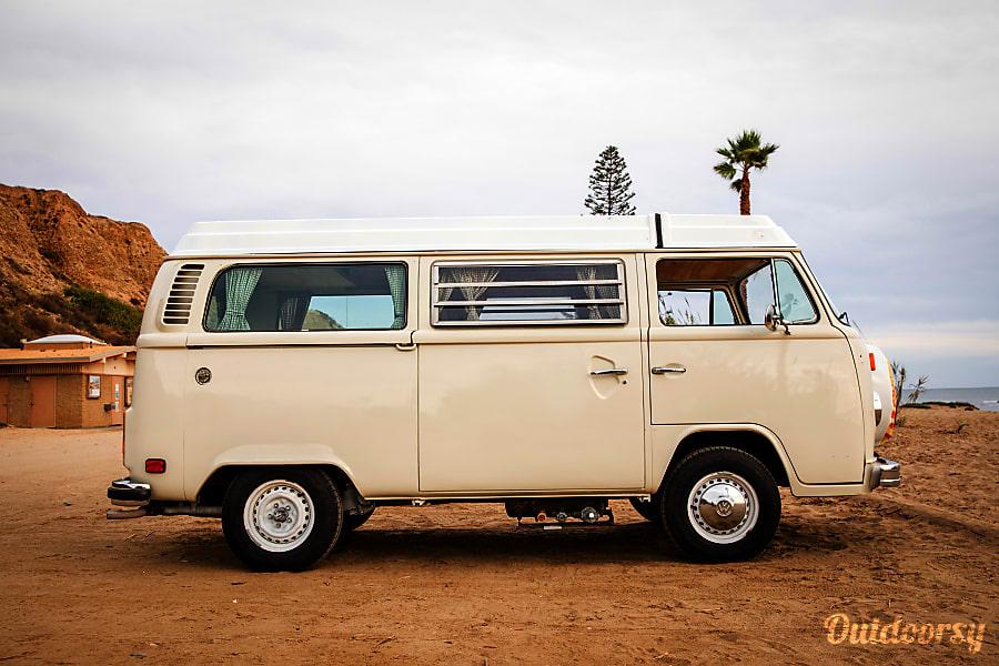 1978 Volkswagen Westfalia- Buttercup Santa Barbara, CA