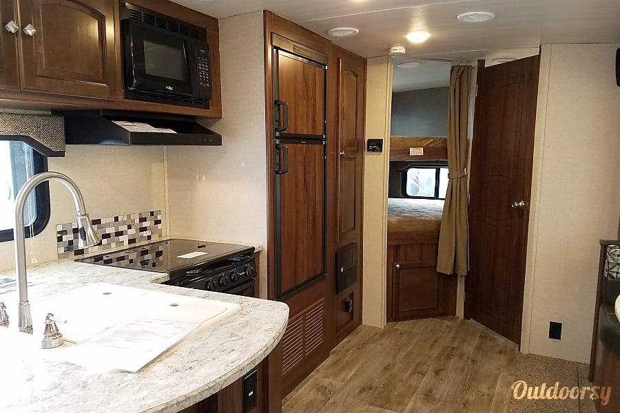 interior 2017 Heartland North Trail Carrollton, TX