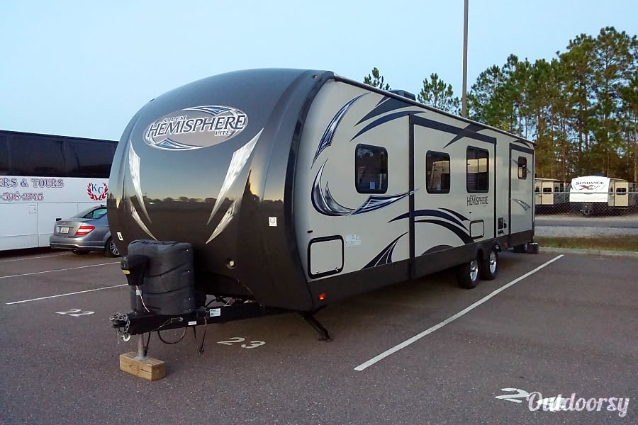 exterior 2014 Forest River Salem Hemisphere Jacksonville, FL