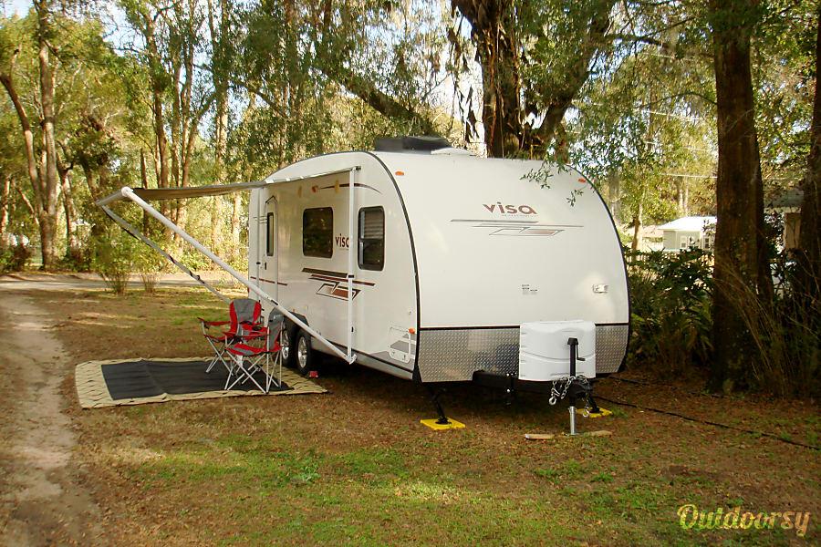 exterior 2012 Gulf Stream Visa Dade City, FL