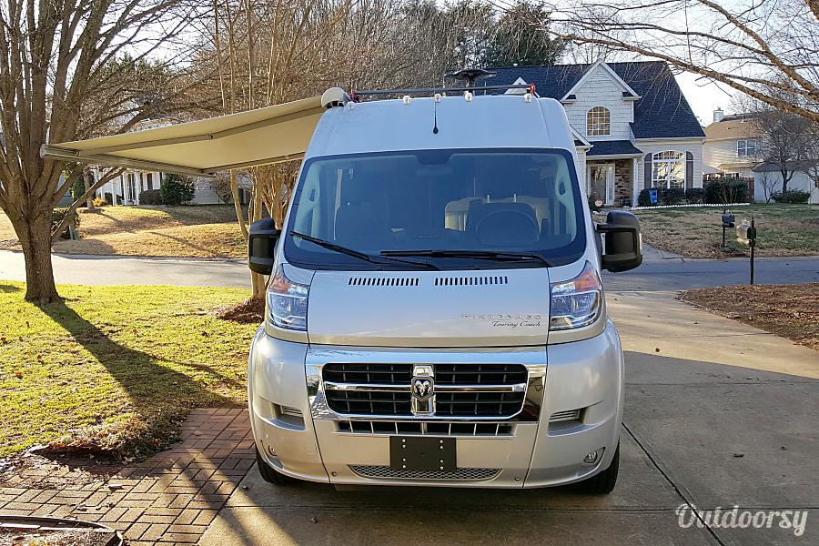 exterior 2018 Winnebago Travato 59G Charlotte, NC