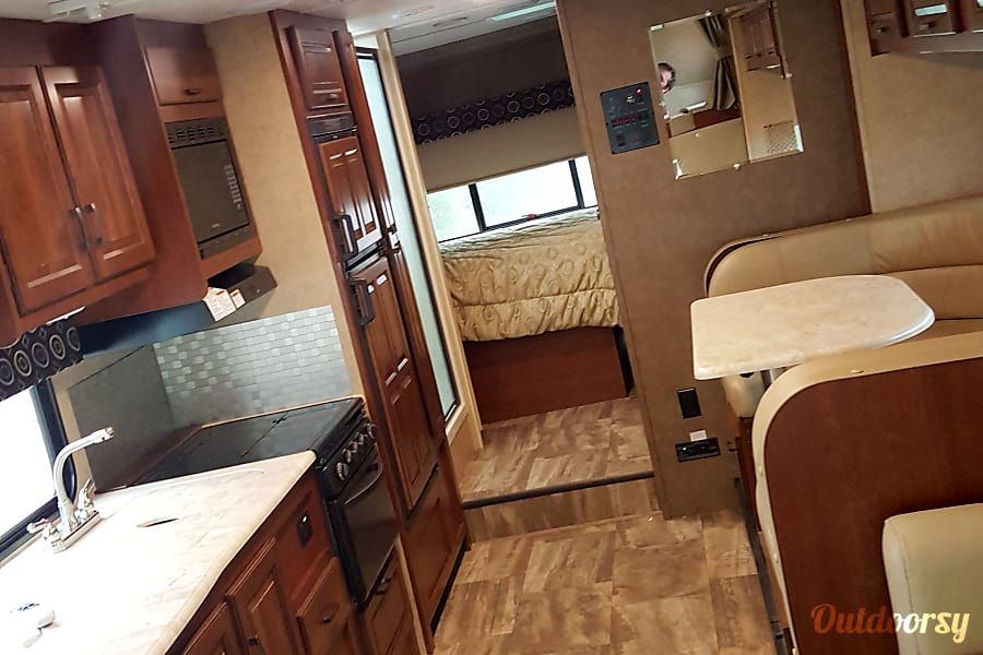 interior 2017 Forest River Sunseeker Buffalo, IL