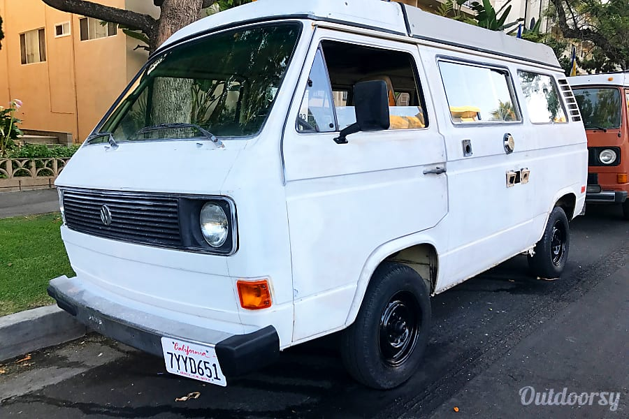 exterior 1980 Volkswagen Westfalia Los Angeles, CA