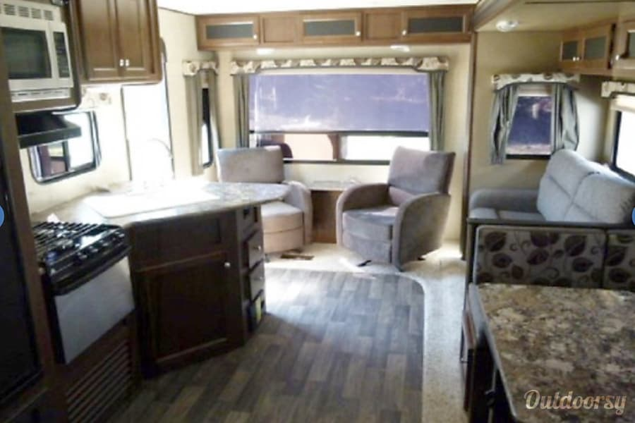 interior 2016 Keystone Hideout Shawnee, OK