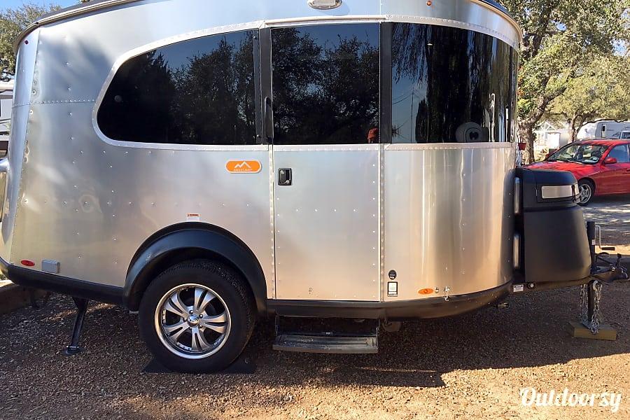 exterior 2018 Airstream Base Camp Austin, TX