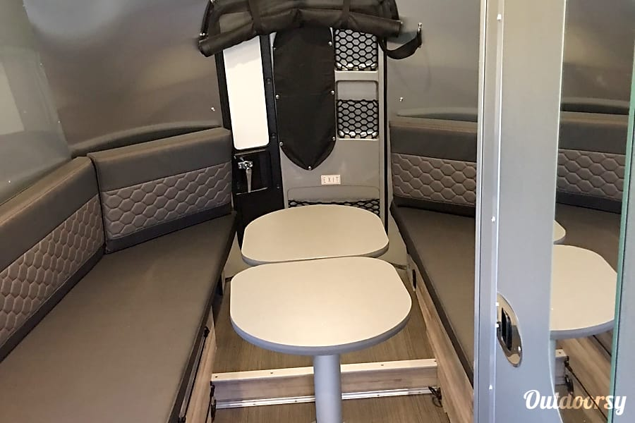 interior 2018 Airstream Base Camp Austin, TX