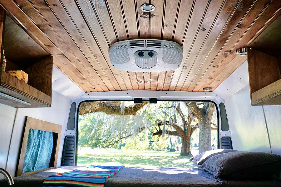 "2017 Dodge Promaster - ""Vanna Verde"" Austin, TX"
