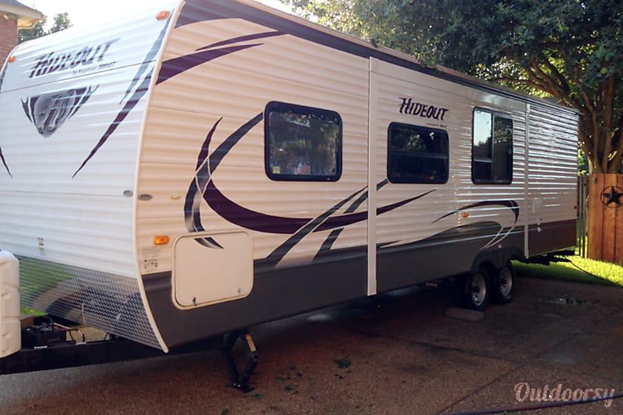 exterior 2016 Keystone Hideout Mansfield, TX