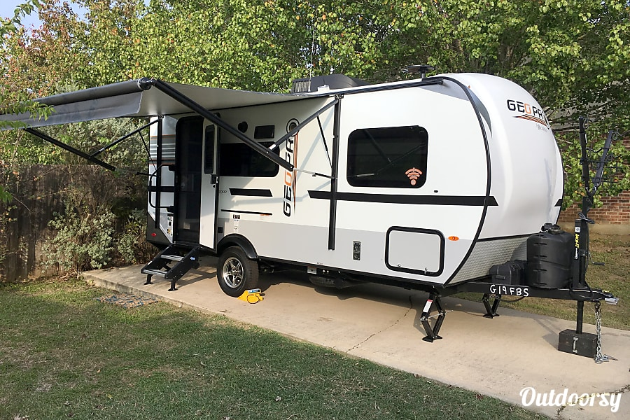 2018 Forest River Rockwood Geo Pro Trailer Rental In Buda