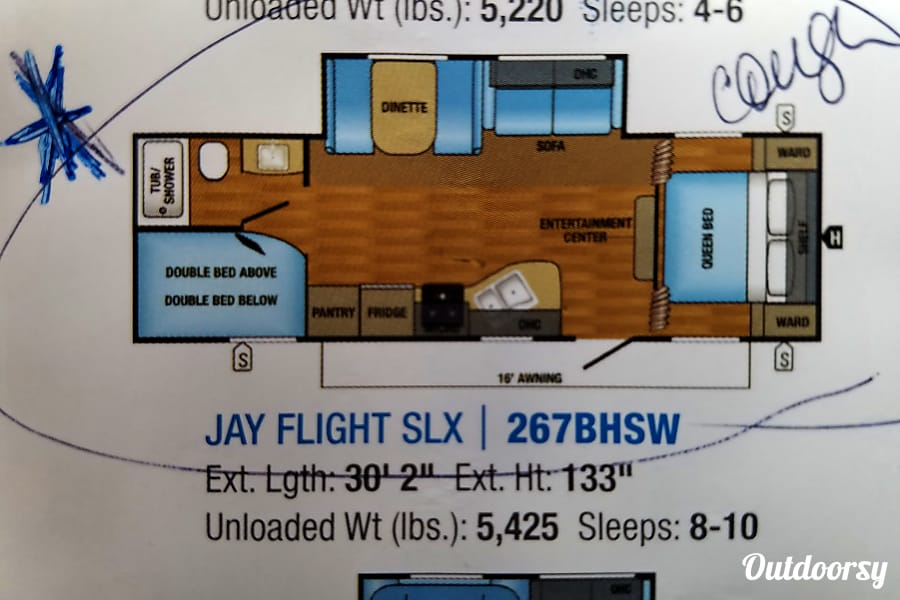interior 20017 Jay-Flight SLX Aurora, IL