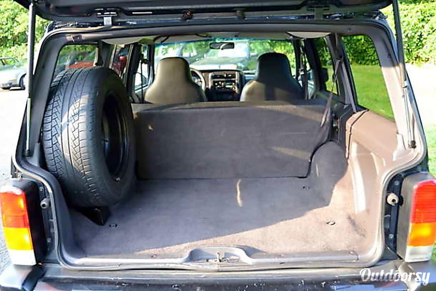 interior 1997 Jeep Cherokee Richardson, TX