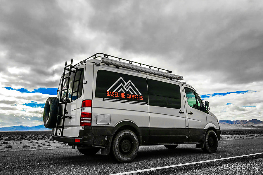Mercedes Diesel Pop Top Campervan Bend, ...