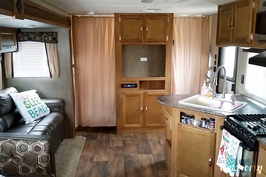 interior 2017 Keystone Springdale Allen, TX