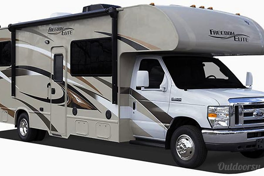 exterior 2017 Thor Motor Coach Freedom Elite South San Francisco, CA