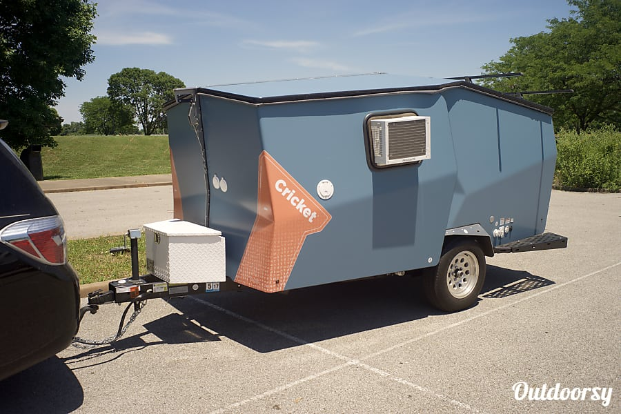 2015 TAXA Outdoors Cricket Camper POCOPSON, PA