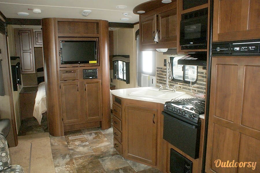 interior 2014 Jayco Jay Flight Guilderland, NY