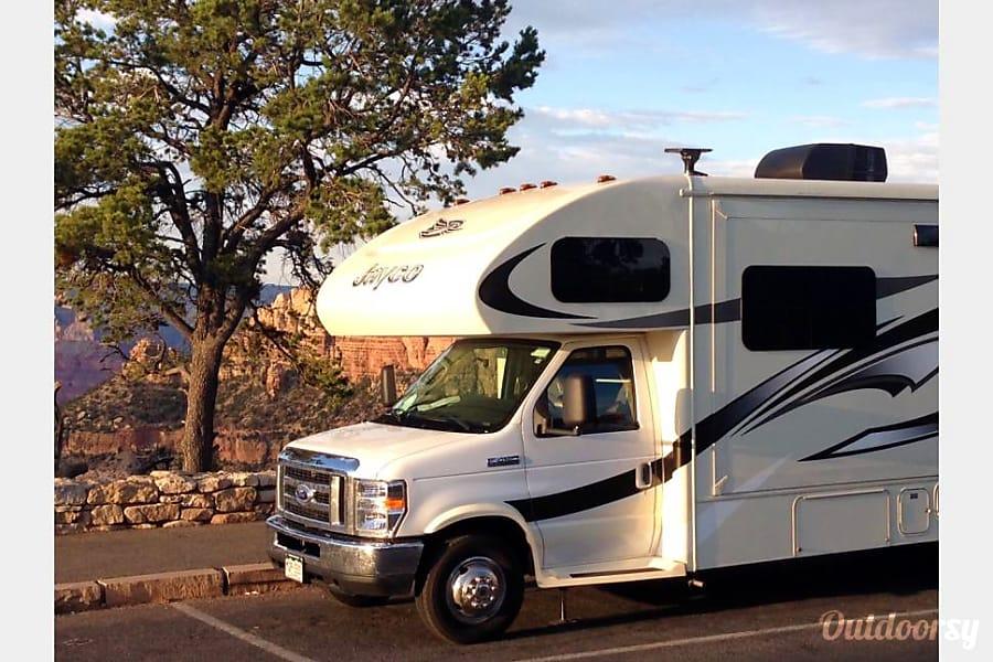 exterior 2016 Jayco Greyhawk 31FS Bunkhouse Colorado Springs, CO