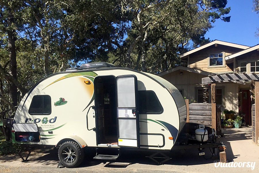 exterior R-Pod  (PICK-UP/DROP OFF Available) Pebble Beach, CA
