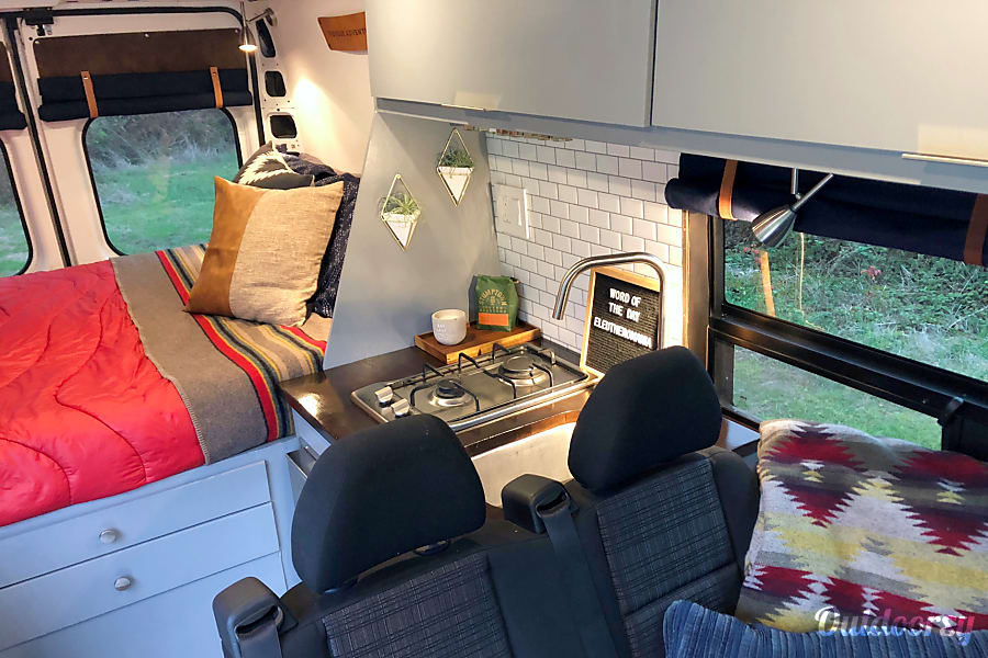 interior 2017 Promaster Campervan - Forest Berkeley, CA