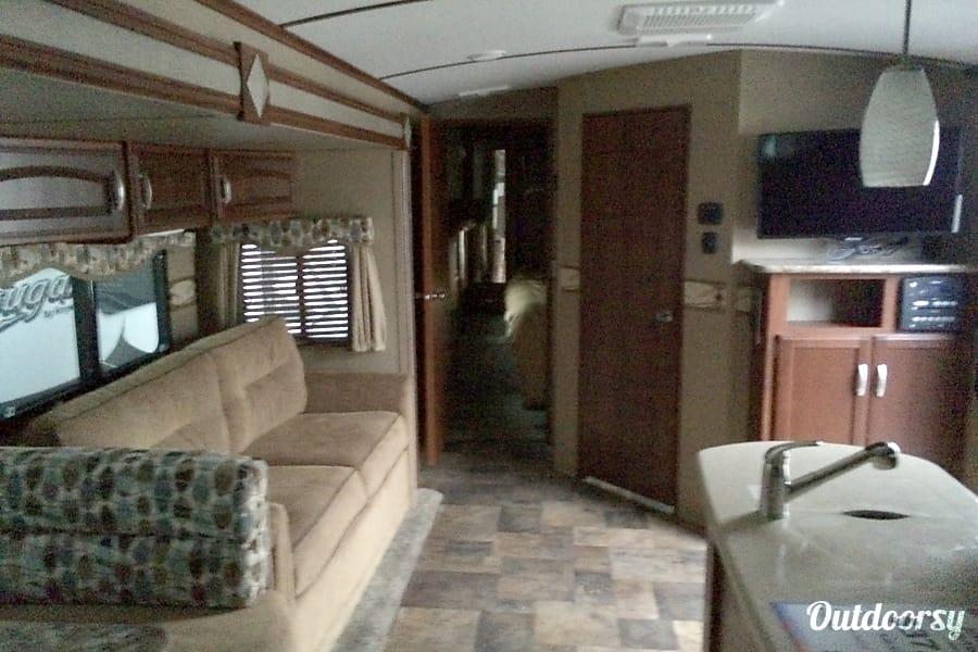 interior 2014 Keystone Outback Bunkhouse Lancaster, CA