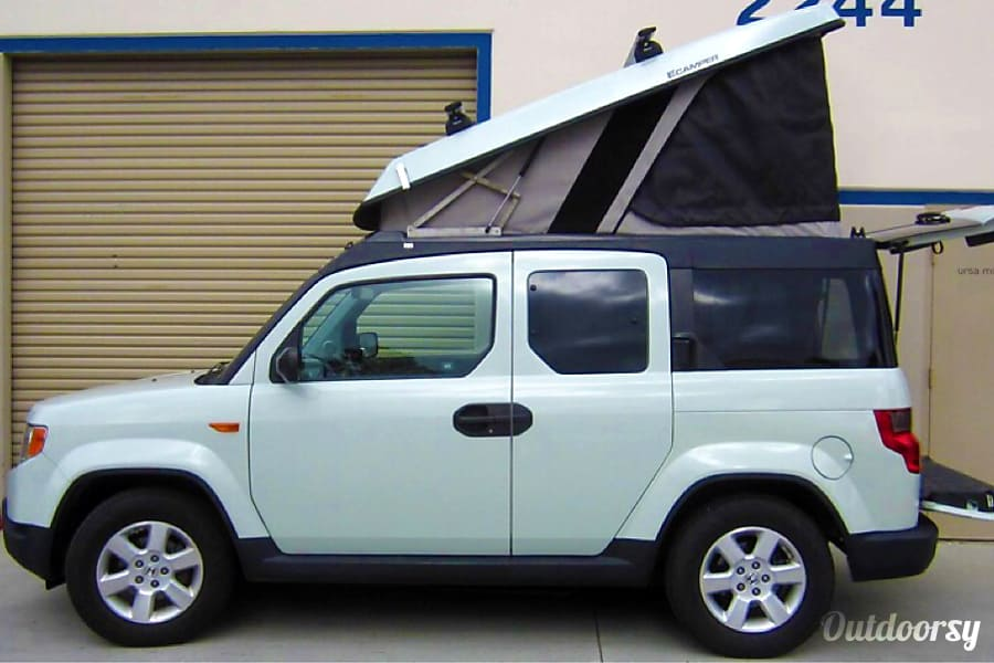 exterior 2011 Honda Element eCamper by Ursa Minor Seattle, WA