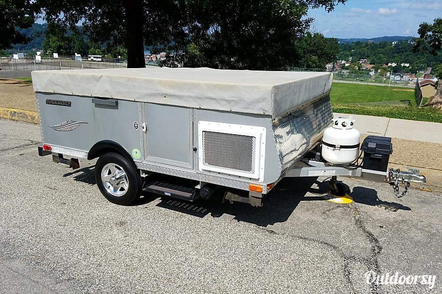 exterior 2013 Livin' Lite Quicksilver 8 . 1 Automotive Camper McKeesport, PA