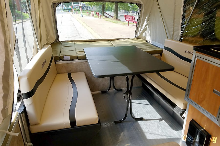 interior 2013 Livin' Lite Quicksilver 8 . 1 Automotive Camper McKeesport, PA