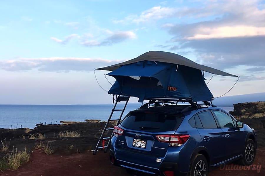 2018 Subaru Crosstrek Motor Home Camper Van Rental In