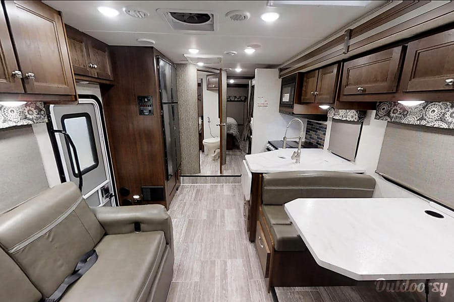 interior 2019 Fully Loaded, Brand New Dream Motorhome with Bunks Lincoln, NE