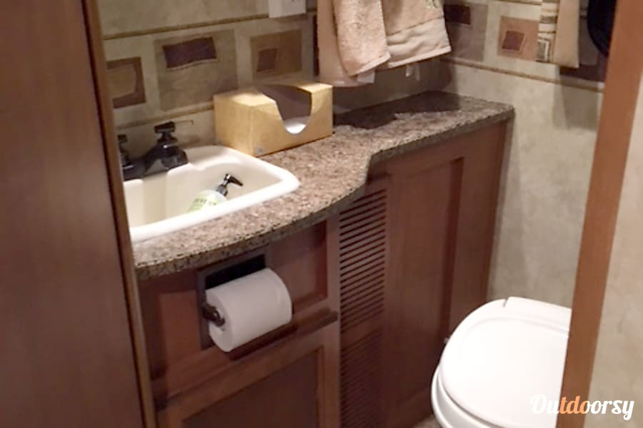 interior 2010 Jayco Greyhawk 31 FS - This is separate listing from the 2011 Hebron, IN
