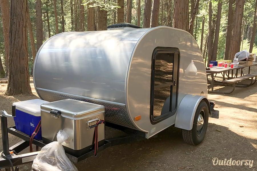 exterior Teardrop Travel Trailer Rancho Cordova, CA