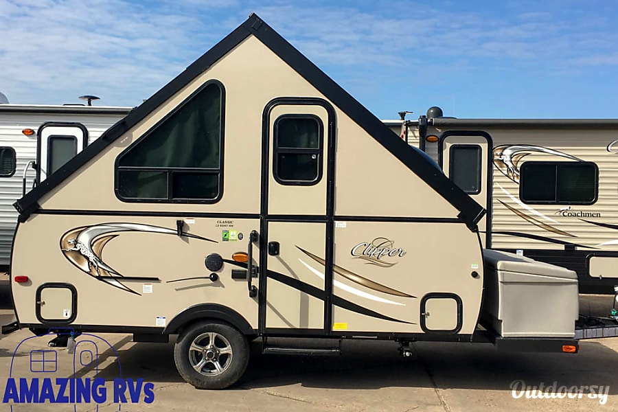 2018 Coachmen Clipper A-Frame Trailer Rental in Houston, TX | Outdoorsy