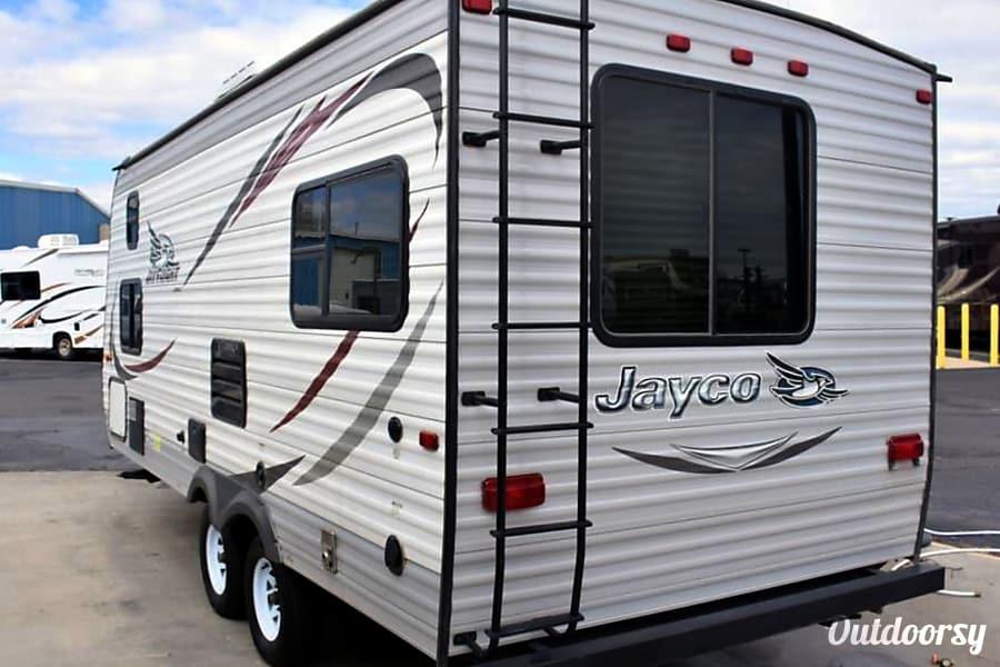 exterior Jayco Jay Flight Family Camper Kernville, CA