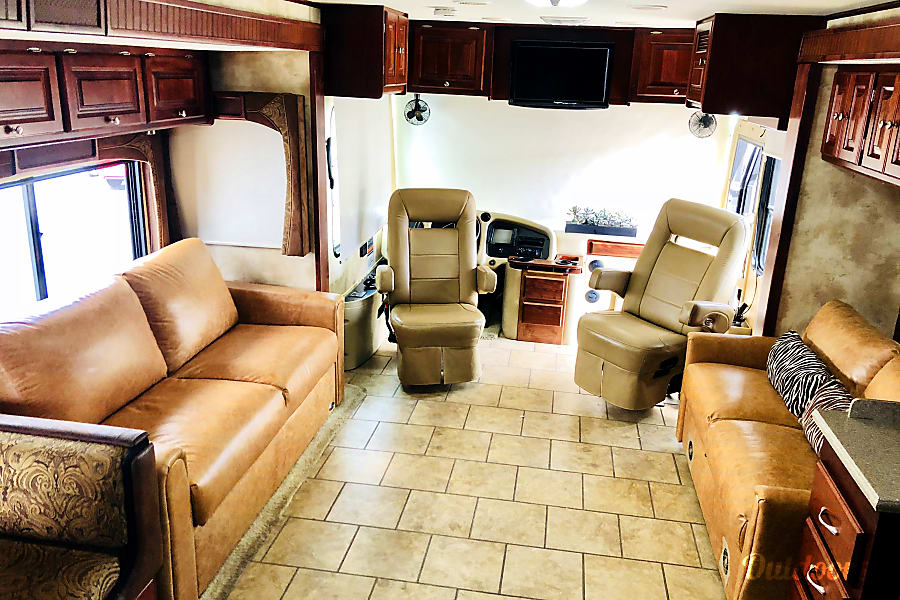 interior 2010 Tiffin Motorhomes Allegro Red - FULLY LOADED! Santa Ana, CA