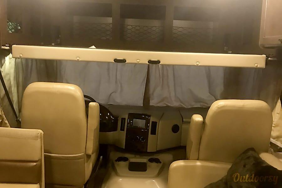 interior 2017 Thor Motor Coach A.C.E Hobbs, NM