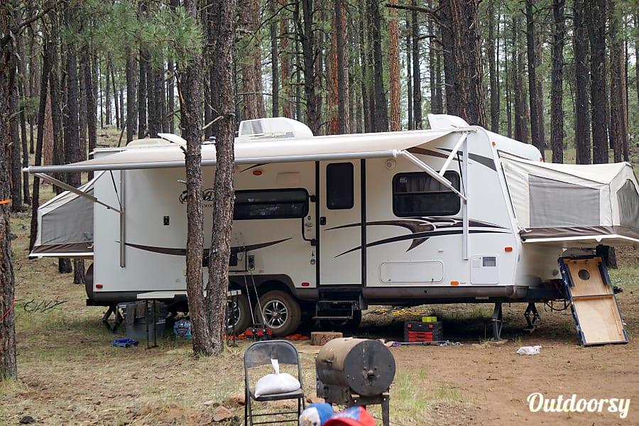 exterior 2015 Forest River Rockwood Roo 233S Mesa, AZ