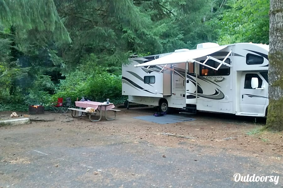 exterior 2013 Jayco Greyhawk  31 FS -- Great for Family vacations -  Bunkhouse Federal Way, WA