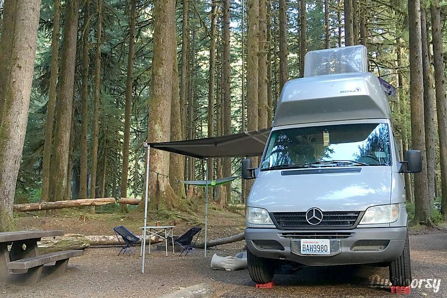 exterior Meet Walter Westy: 2005 Mercedes Sprinter Westfalia Seattle, WA