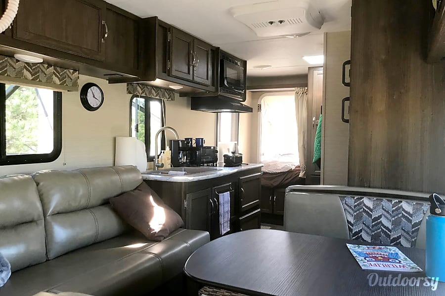 interior Fully Stocked Vacation Home on Wheels Arvada, CO