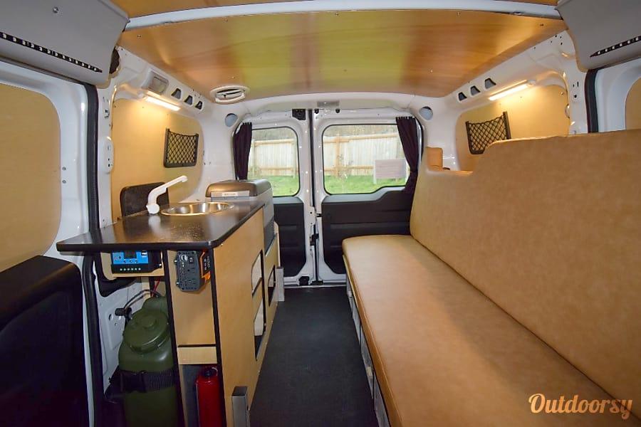 interior Cascade Campers 2016 Promaster City Campervan Tukwila, WA