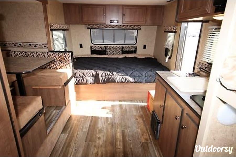 interior 2015 K-Z Escape Spree Sarnia, ON