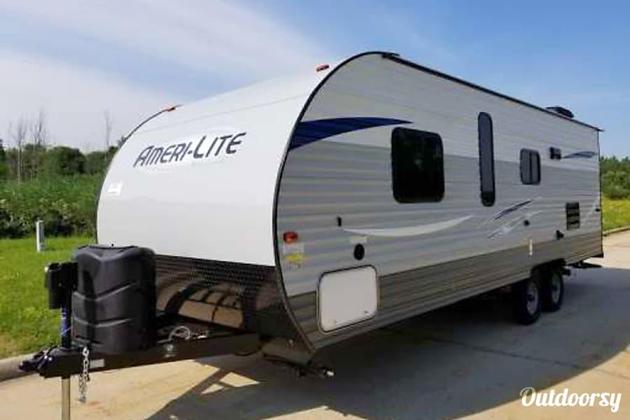 Car Rental Fargo Nd: 2016 Ameri Lite 241RB Trailer Rental In West Fargo, ND